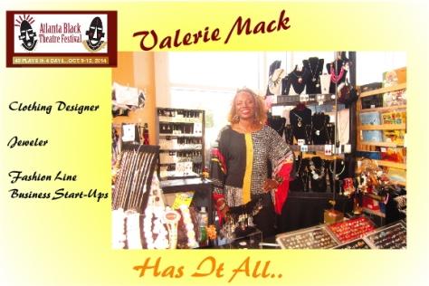 Advertising for Valerie Mack