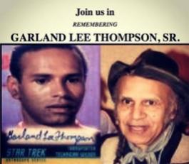 Garland and Star Trek photo